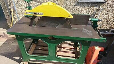 Large Vintage Cast Iron Saw bench / Table saw