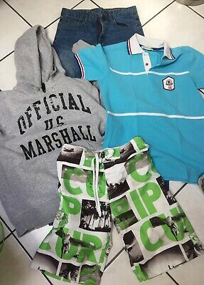 Lot Garcon 16 Ans Jeans Slim Polo Moncler Sweat Us Marshall Short Ripcurl
