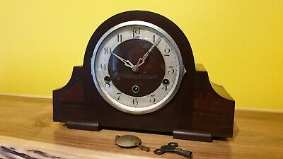 ANTIQUE ENGLISH MANTLE CLOCK Westminster Chime