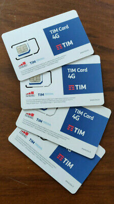 Elenco Sim card Top numero facile TIM introvabili, nuove da attivare