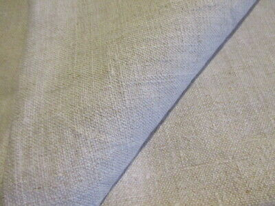 Antique French Hemp Sheet Natural Linen Homespun Farm house Country Rustic