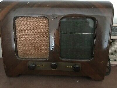 collectable vintage valve radios.