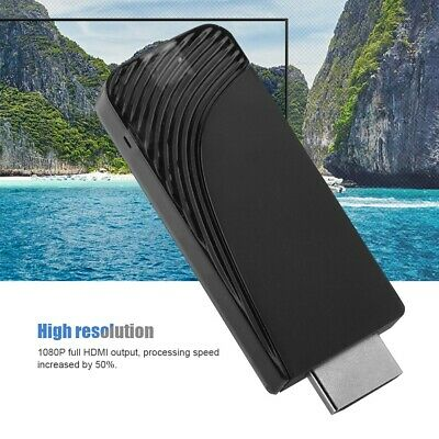 Wireless Receiver Mirascreen Wifi Hdmi Display Tv Dongle Media Video Streamer