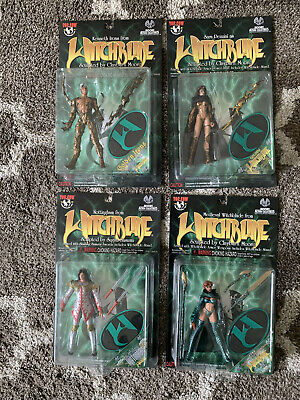 Moore Collectibles Witchblade Action Figures Lot of 4 with variants - Brand New