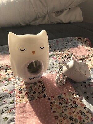 The Gro Company Official Gro Egg Orla The Owl Digital Thermometer/Night Light