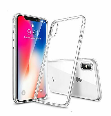For iPhone XS Max XR Case Ultra Crystal Clear Soft Thin COVER For Apple phone Xr