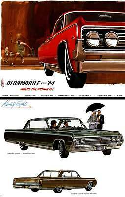 Oldsmobile 1964 - Oldsmobile for '64 Where the Action is!
