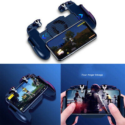 Controller Gamepad with Cooling Fan Gaming Trigger For PUBG Mobile iOS Android