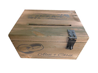 Briefbox, Briefbox Hochzeit, Briefbox Holz, Briefbox personalisiert