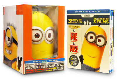 Despicable Me (3 - Movie Collection With Minion Lamp)(Blu-Ray / Dvd) ( (Blu-Ray)