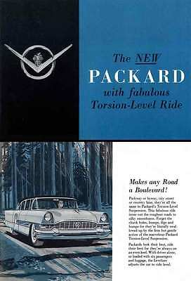 Packard 1955 - The New Packard with fabulous Torsion-Level Ride