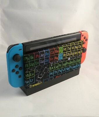 Nintendo Switch Dock Cover - Dock Sock Screen Protector - Periodic Table Sleeve