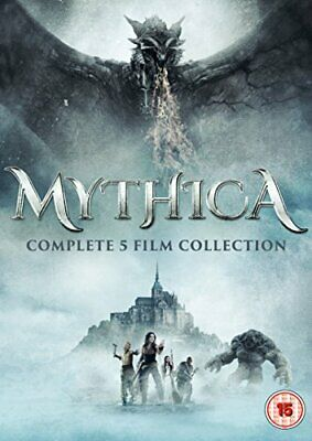 Mythica Complete 1-5 Film Collection Boxset [DVD]