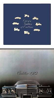 Cadillac 1972 - Out of Tradition of Excellence - Greatness Cadillac 1972