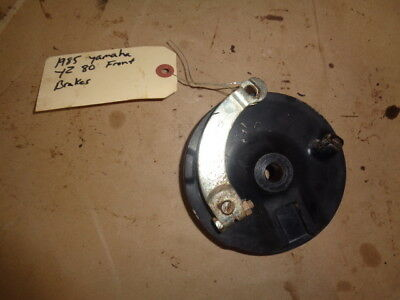 1985 Yamaha YZ80 OEM Front Brake Drum Hub Assembly