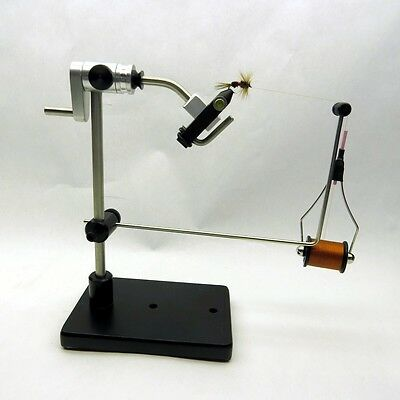 Mayfly 2A True Rotary Fly Tying Vise, Lever Jaw, Made in USA