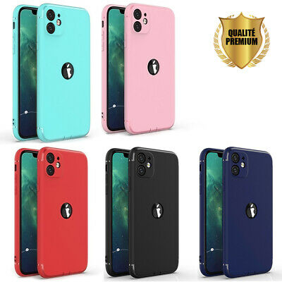 Coque Anti Choc Silicone Protection Pour Apple Iphone 6 6S 7 8 Plus 5S Se Xs Max