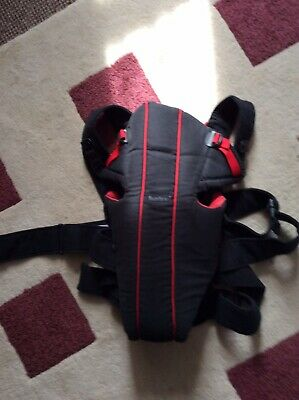 BabyBjorn baby carrier 8lb+ Black & Red