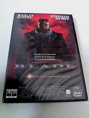 "Dvd ""blade"" Precintado Sealed Wesley Snipes Stephen Dorff Stephen Norrington"
