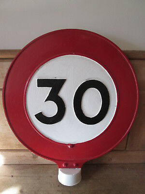 30 MPh road sign. road sign. traffic sign. street road sign. vintage road sign.