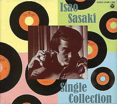 Isao Sasaki Cd-Box Singles Collection Condition Box Difficulty