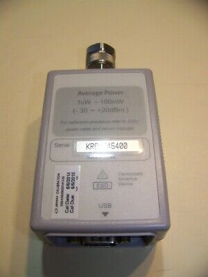 Very clean JDSU JD732A Average Power Sensor 20-3800MHz, -30 to +20dBm Tested.