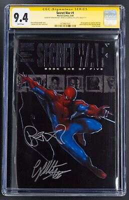 Secret War #1 - CGC 9.4 SS - signed Gabriele Dell'otto and Brian Michael Bendis