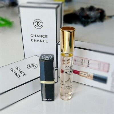 coco chanel Maquillage Mat Rouge à Levre Coffret Cologne Maquillage 2 en 1