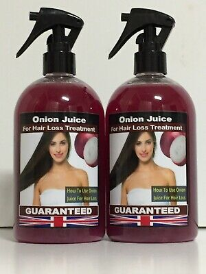 Onion Juice , For Hair Loss Treatment ,Fantastic Result, Without Smell ,500 Ml