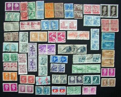 50 Different Used World Wide Stamp Pairs