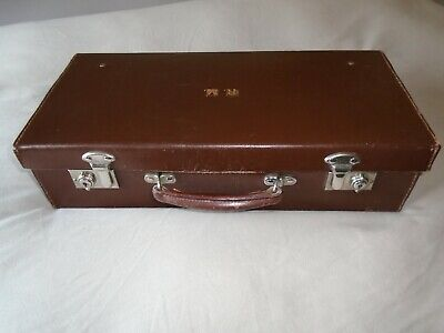 Masonic Case. Brown Leather