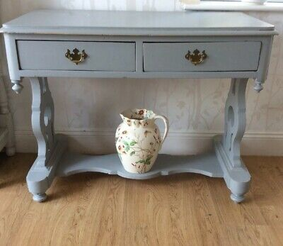 Victorian Painted Washstand Side Table