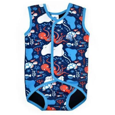 Splash About Baby Wrap Neoprene Sleeveless Baby Wetsuit | Under The Sea