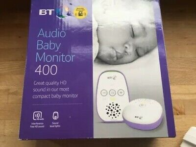 bt audio baby monitor 400 New In Box