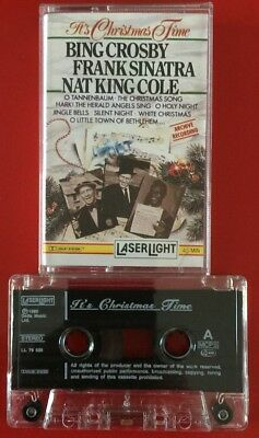 It's Christmas Time Cassette Tape Bing Crosby Sinatra Nat King Cole