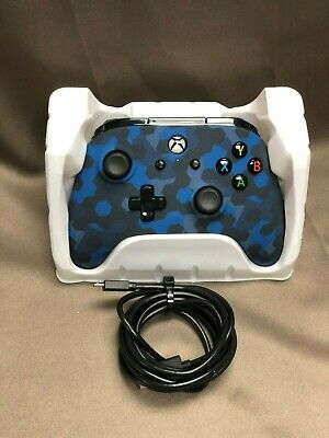 Xbox One Power A Wired Controller- Stealth Blue Camo