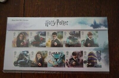 Harry Potter Royal Mail 2018 Stamps 15 Stamps Presentation Pack New & Sealed