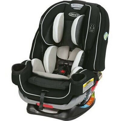 Graco Baby 4Ever Extend2Fit All-in-1 Convertible Car Seat Booster Clove - NEW!