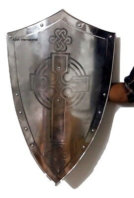 Medieval-Shield-All-Metal-Handcrafted-Medieval-Armour-Shield-Gift  Medieval