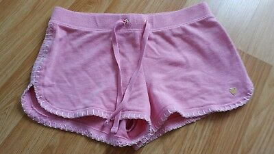 Juicy Couture Girls Pink Shorts ~ 7 Years