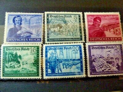 Germany Hitler Third Reich 1944 Charity stamps MNH