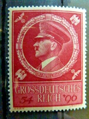 Germany Hitler Third Reich 1944 Hitler's 55th Birthday MNH