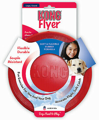 PHILLIPS PET FOOD SUPPLY Kong LG RED Fly Dog Toy KF3