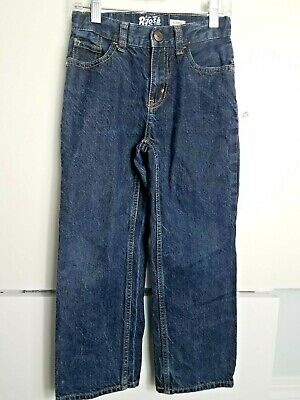 Little Boys Size 7 Oshkosh B'gosh Classic Denim Blue Jeans! Euc!
