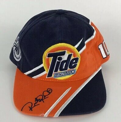 Ricky Rudd Tide Racing Team Crew Snapback Baseball CFS Cap Hat