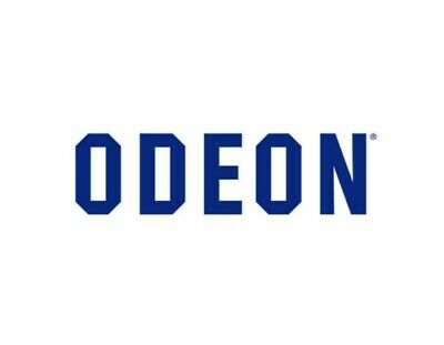 1x Adult Odeon Movie Codes Outside M25. Any Time. Any Day RRP £9.75