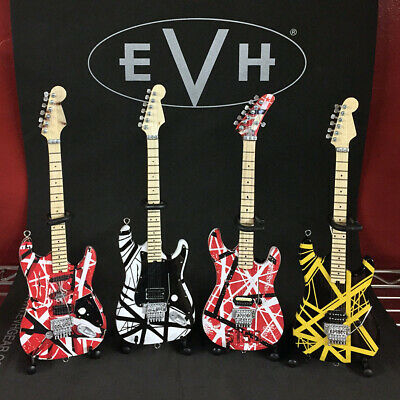 Complete Set of All 4 EVH Mini Guitars from Eddie Van Halen, New, Free Shipping