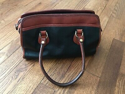 Leather Co. Black & Brown Leather Purse