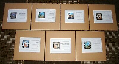 James Cauty - SPLATTER! - All 7 Mini Cells - Low Numbers - MINT & UNOPENED! L-13