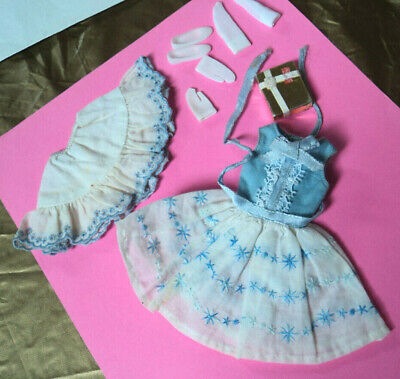 """#1919 Skipper """"Happy Birthday"""" Outfit Very Nice Pieces ~~All Vintage 60'S"""